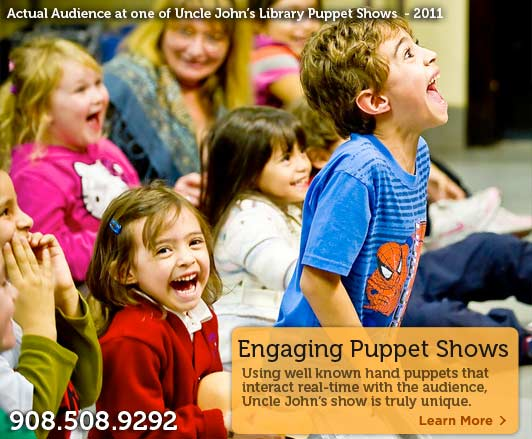 Nutley NJ Puppet Shows